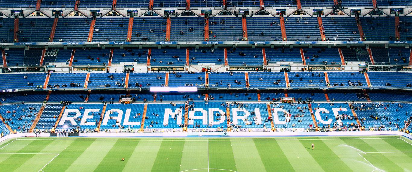 "Acampamento de futebol ""Real Madrid Experience"" para juniores"